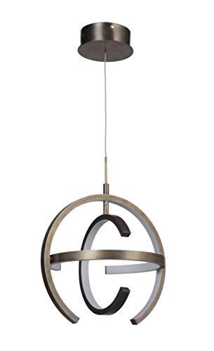- Craftmade 47891-PAB-HUE Dolby LED Pendant Lighting, 1-Light, 32 Watt, Patina Aged Brass (17