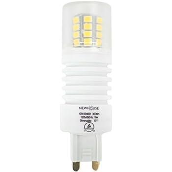 newhouse lighting g9 led bulb halogen replacement lights 5w 40w equivalent bi pin base 475. Black Bedroom Furniture Sets. Home Design Ideas