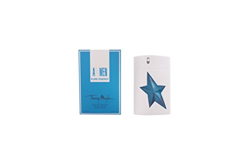 Thierry Mugler Angel Men Pure Energy Eau De Toilette Spray, 3.4 Ounce 3.4 Ounce Edt Refill