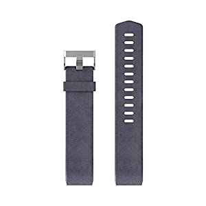 Fitbit Charge 2 Health and Fitness Tracker Leather Accessory Band, Small – Indigo
