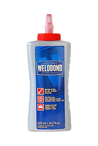 Weldbond 8-50420 Multi-Purpose Adhesive Glue, 1-Pack, As As Pictured ()