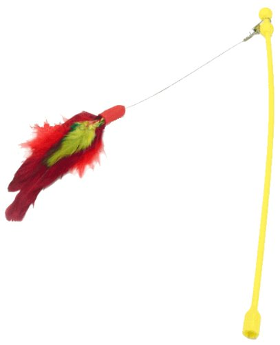 Panic Mouse Feather Wand Attachment, My Pet Supplies