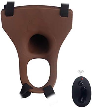 Arnés de silicona con correa hueca para hombre, funda para pene, extensión para pene, consolador grande de 7 pulgadas para consolador realista y suave: Amazon.es: Salud y cuidado personal