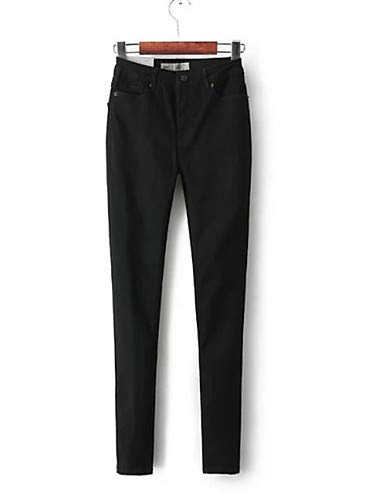 YFLTZ Femme Gray Unie pour Basic Jeans Couleur Pantalon rnw4FSqr