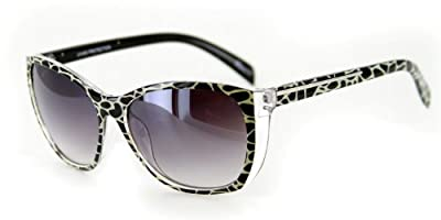 """Animal Instinct"" Designer Sunglasses with Stylish Patterned Frames for Women"