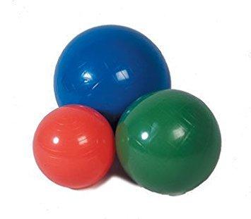 Cando Inflatable Exercise Ball - 120 cm (47.3'') - Orange - Polybagged