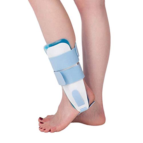 (Ankle Joint Traction Belt Tibia Fibula Guard Adjustable Solid Corrective Brace with Gel Gasbag)