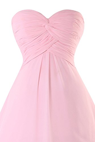 Knotted Ruched Front Homecoming Dasior Women's Strapless Prom Daffodil Chiffon Dress RqwUt7x