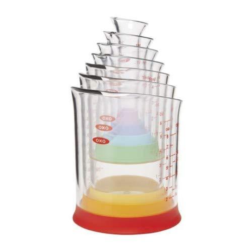 OXO Good Grips 7-pc Liquid Measuring Beaker Set - Blister -