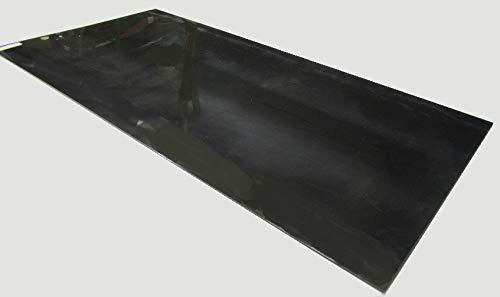 Delrin Black Acetal POM Sheet .188 Thickness x 24 Width x 48 Length 3//16 1 pc.