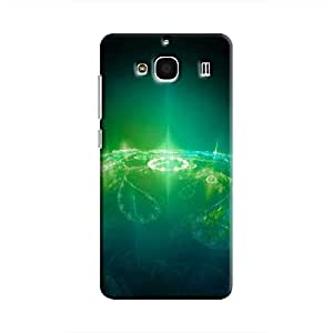 Cover It Up - Green Pattern Planet Redmi 2 Prime Hard Case
