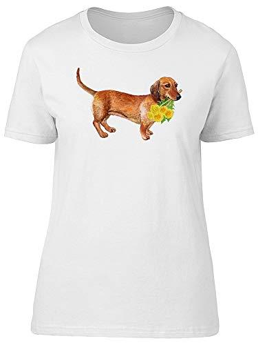 German Dachshund Dog Tee Women's -Image by Shutterstock from Teeblox