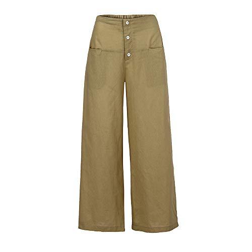 GreatestPAK Pantaloni Beige Trouses Relax Donna r5IXrqxB