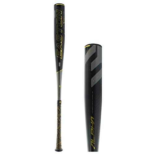 EASTON Project 3 Alpha -3 BBCOR Baseball Bat | 31 inch / 28 oz | 2019 | 1 Piece Aluminum | Carbon-Core | ATAC Alloy | VRS COR | Speed End Cap