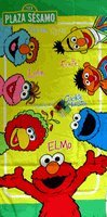(Sesame Street Friends New Design Beach / Bath Towel)