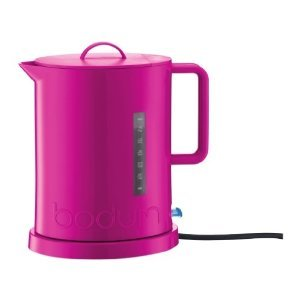 BODUM - Bouilloire électrique de l\'eau d\'IBIS 1.7 L rose 5500-464 de ...