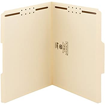 Amazon.com : Smead Fastener File Folder, 2 Fasteners, Reinforced 1 ...
