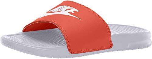 biggest discount footwear new product Nike BENASSI JDI, Men's Shoes, Red (White/Mystic Red 106), 6 UK ...