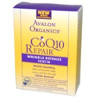 Avalon Organics CoQ10 Repair Wrinkle Defense Serum, 0.55 Ounce ()