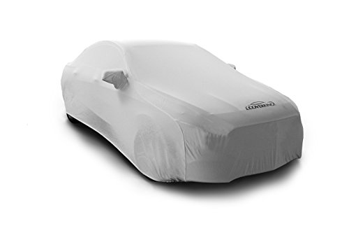 Coverking Custom Fit Car Cover for Select Cadillac CTS Models - Satin Stretch (Pearl White)