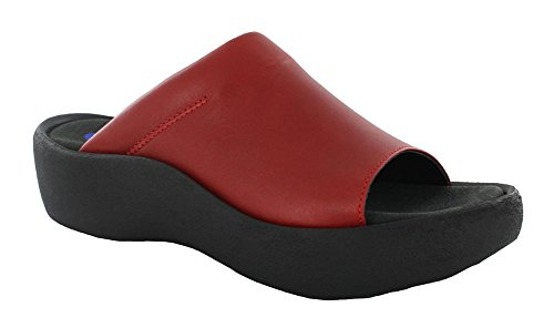 09457 Wolky Confort Smooth Leather Baskets nbsp;alba Red Yfb7v6gyI