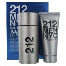 Carolina Herrera 212 2 Piece Men Gift Set, 3.4 Ounce - Eau De Set Gift Cologne