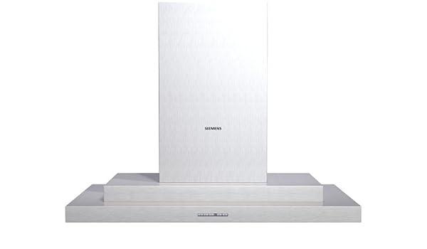 Siemens LC95950 - Campana (Canalizado/Recirculación, 470 m³/h, 61 Db, Montado en pared, Halógeno, Acero inoxidable): Amazon.es: Hogar