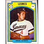 1973 Made in Venezuela Stickers (Baseball) Card# 123 Simon ...