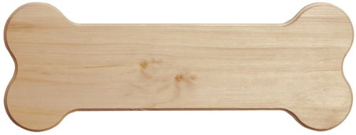 Walnut Hollow Pine Signboard, Dog Bone