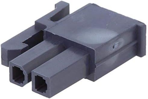 7x MX-46992-0210 Plug wire-wire//PCB female Mini-Fit Jr 4.2mm PIN2 for MOLEX