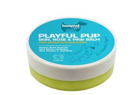 (HOWND Playful Pup- Skin, Nose and Paw Balm Protector- All Natural 1.75oz Protective Balm)