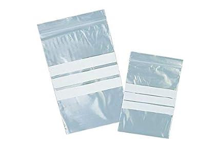 10 bolsa zip 230 x 320 mm de escritura zona zip bolsas de ...