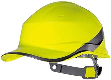 ヘッド保護 建設用ヘルメット - キャップスタイルのハードハット調整可能なラチェット6 Ptサスペンションハード非換気ハット調整可能なヘルメットPPエンジニアリングヘルメ 作業安全装置 (色 : オレンジ)