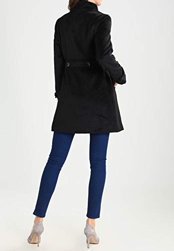 col Peacoat ou pour chic Manteau en femme rang Field double pour Anna court femme femme avec montant Manteau noir d'hiver avec pour Veste chaud beige x7awPIq8