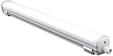 LLT LED 2ft 18W Garage Vapor Tight Fixture IP66 Vaporproof 3500K//4000K//5000K