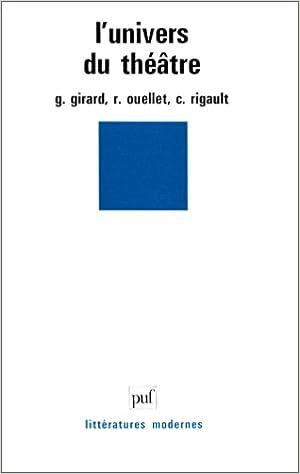 Livre gratuits L'univers du théâtre pdf