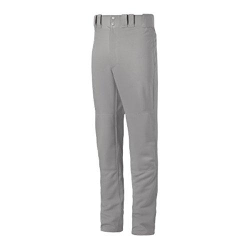 Mizuno Premier Pro Adult Baseball Pants With Hemmed Open Bottom, White, (Adult Pro Baseball)