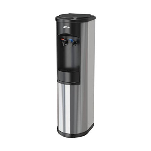 (Oasis Artesian Bottleless Water Dispenser Hot & Cold w/Multi-Stage Filtration or Reverse Osmosis (Complete Filtration Package Options) (6 Stage EZ Change R/O, Stainless Steel))