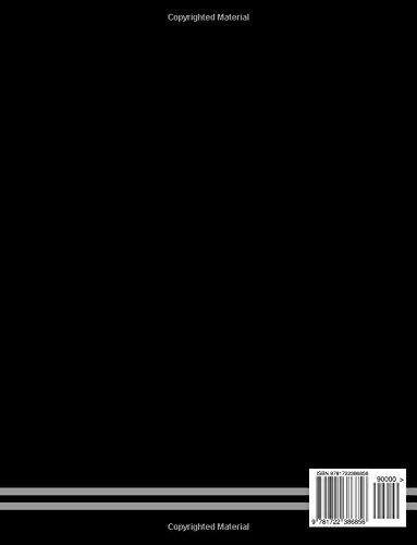 Isometric Grid Paper: Isometric Grid Pad Black 8.5x11