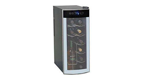 12-Bottle Avanti Quiet Thermoelectric Counter-top Wine Cooler – Stores Open Bottles!