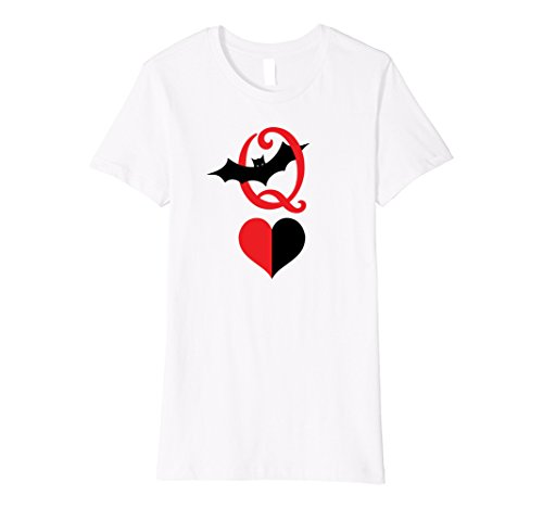 Womens Queen of Hearts Halloween T-shirt Medium (Queen Of Hearts Clothes)