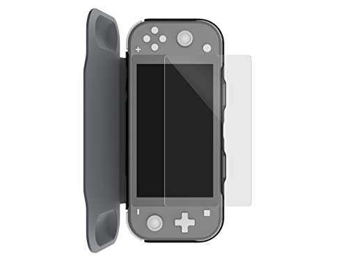 Surge Nintendo Switch Lite Flip Cover Case - Grey - Nintendo Switch
