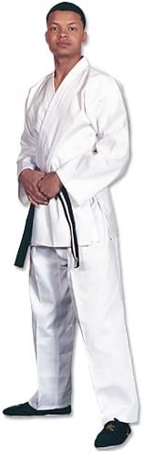 Karate Uniform Medium Weightホワイト100 %コットン