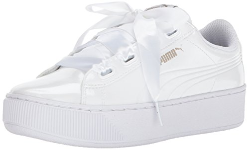5 Ribbon Platform Pour White Eu Chaussures 37 P Femmes Vikky Puma 4xWq5wE866
