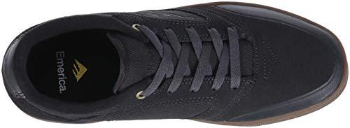 Pictures of Emerica Men's Dissent Skate Shoe 6101000110 Black Black 2