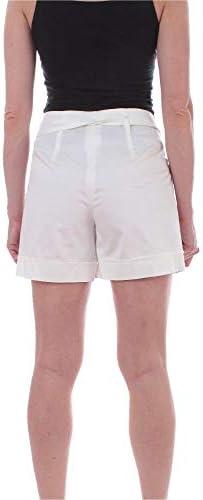 IBLUES Fashion Woman 71410202003 White Cotton Shorts   Spring Summer 20