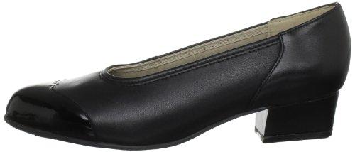 Speciality Zapatos Tacón Ctas Padders Schwarz De Croc Cuero Negro Mujer black wTqRxZ5H