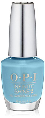 bright blue opi nail polish - 2