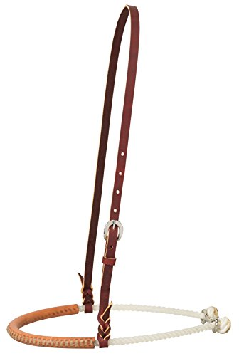 (Weaver Leather Leather Covered Single Rope Noseband)