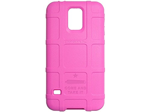 NDZ Performance Come Take it 2L text Engraved Magpul MAG476 Field Case PINK for Samsung Galaxy S5 - And Take Magpul It Come